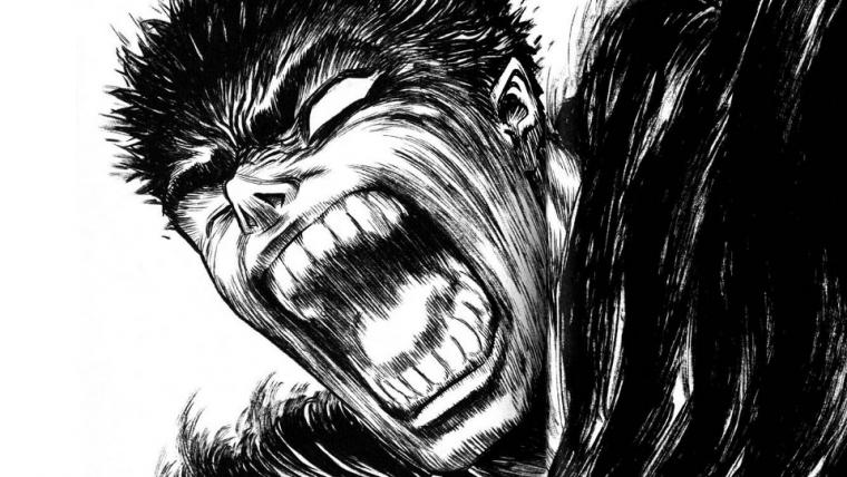 Mangá de Berserk retorna ainda neste mês
