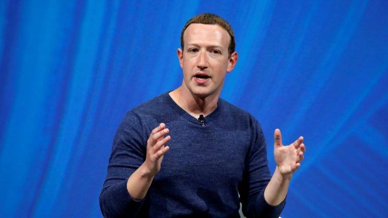 Dezenas de posts de Mark Zuckerberg no Facebook foram apagados de uma hora para outra