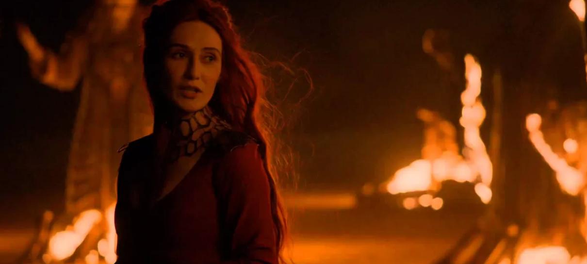 Game of Thrones | Carice van Houten fala sobre Melisandre na Batalha de Winterfell