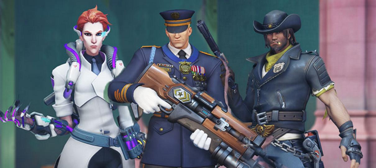 Overwatch   Confira as novas skins do evento Tempestade Iminente
