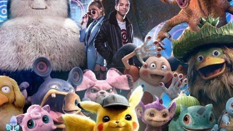 Detetive Pikachu ganha cartaz repleto de Pokémon