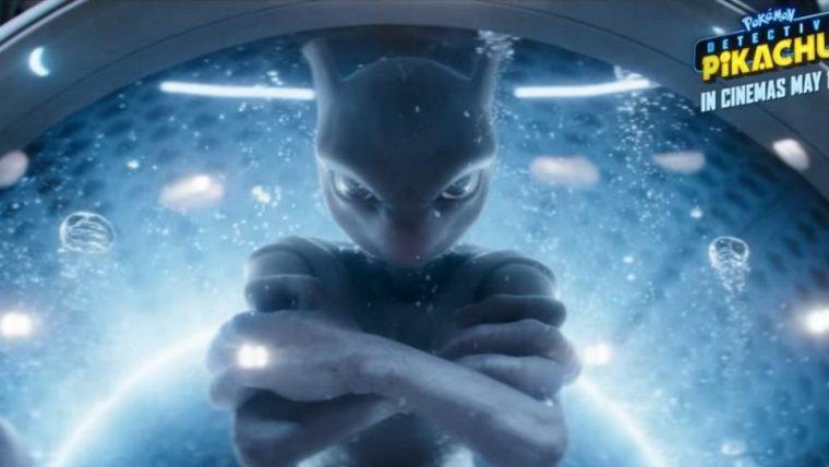 Detetive Pikachu | Comercial mostra nova cena com Mewtwo