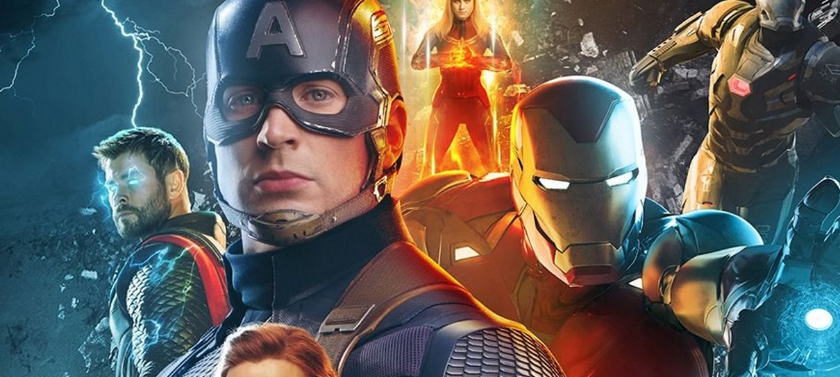 Vingadores: Ultimato   Bosslogic cria pôster oficial do filme