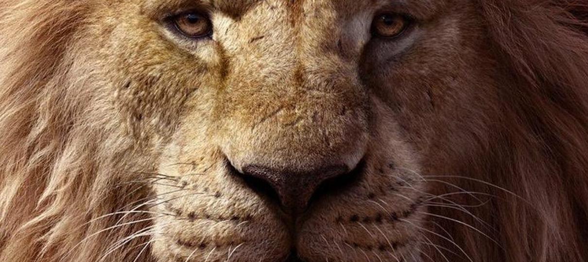 Rei Leão ganha novo cartaz com Mufasa em destaque
