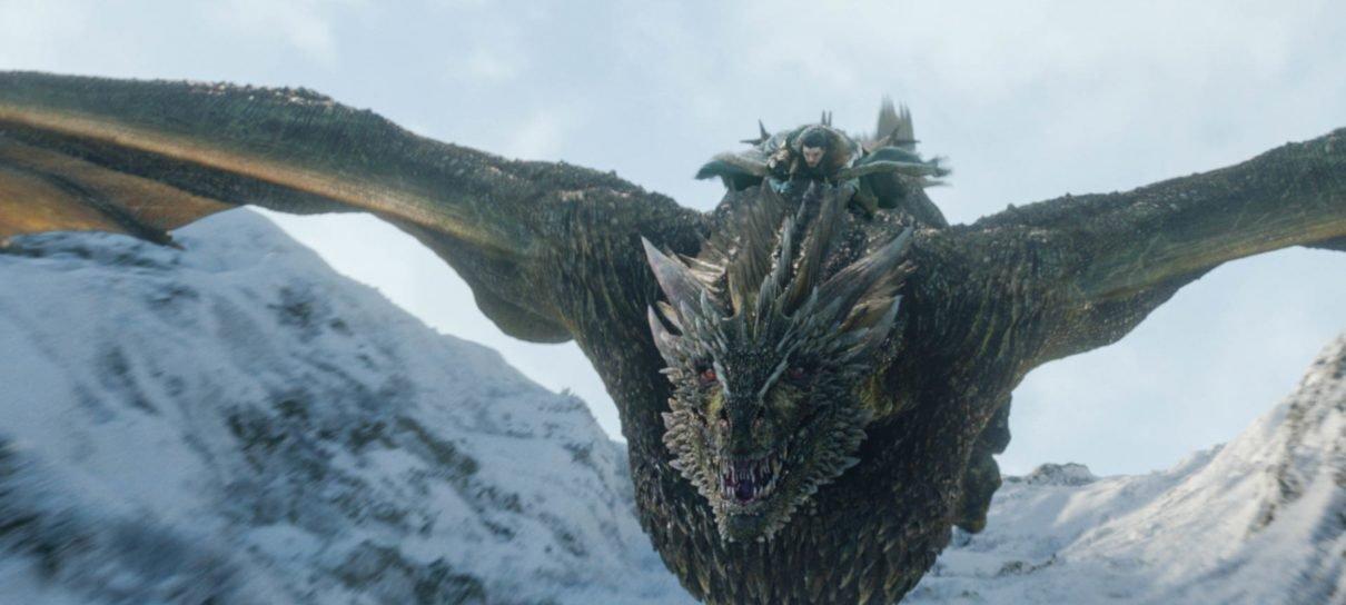 Game of Thrones   O que aconteceu com o dragão Rhaegal na Batalha de Winterfell?