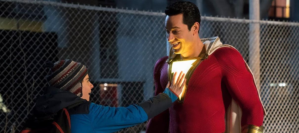 Shazam estreia na liderança das bilheterias e dentro das expectativas da Warner