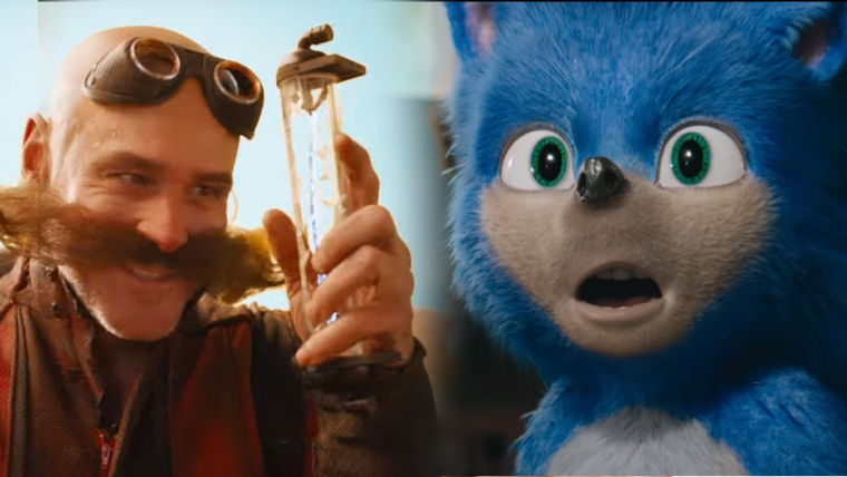 Sonic: O Filme ganha primeiro trailer com muita velocidade e Jim Carrey roubando a cena