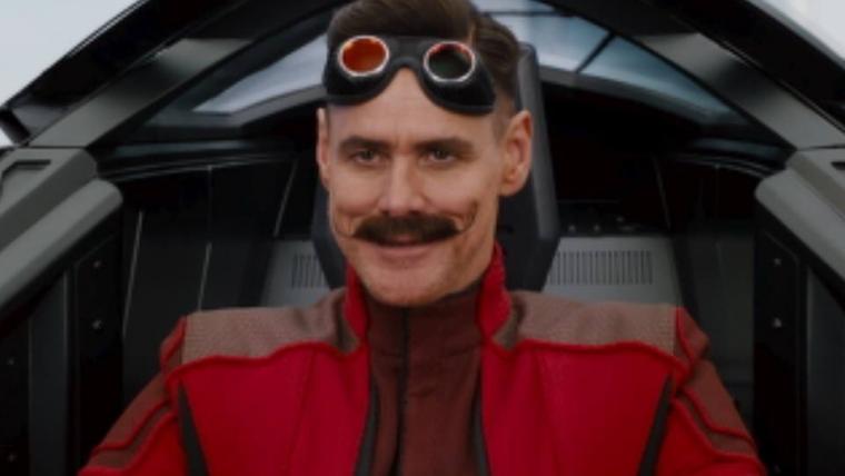 Vaza suposta foto de Jim Carrey como Robotnik em filme do Sonic