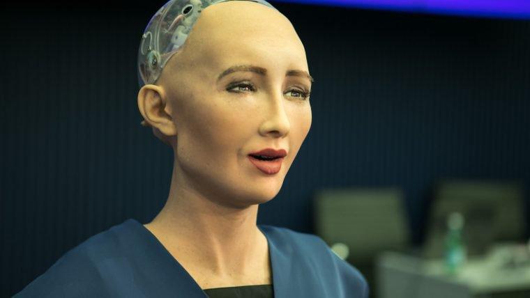 Robô Sophia não quer ser tratada