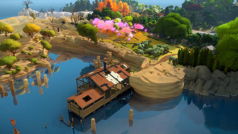 The Witness está disponível gratuitamente por tempo limitado na Epic Games Store