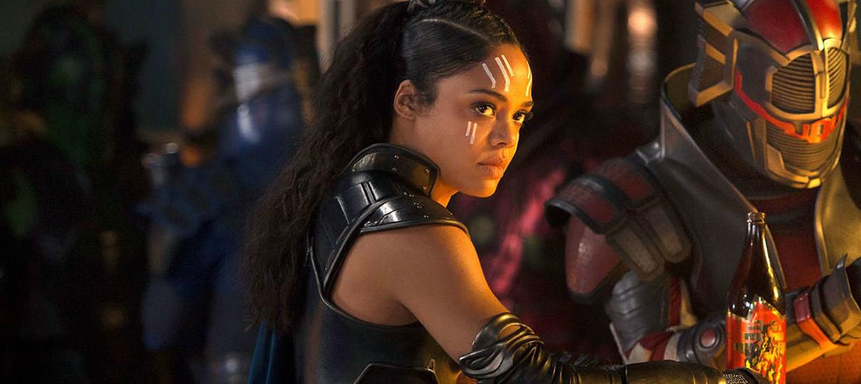 Tessa Thompson revela que Thor 4 pode acontecer