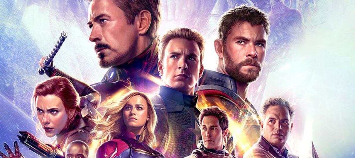 Vingadores: Ultimato ganha dois novos cartazes com heróis enfilerados