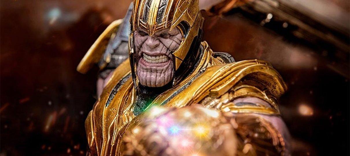 Vingadores: Ultimato | Este figure do Thanos detalha toda a fúria do Titã Louco
