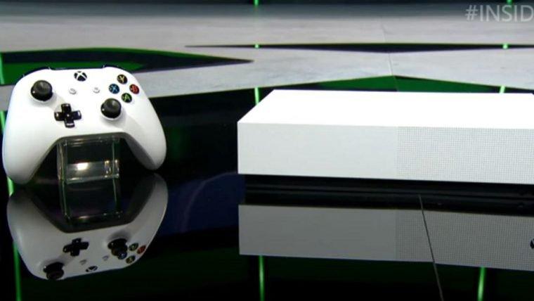 Microsoft anuncia edição do Xbox One S sem leitor de discos