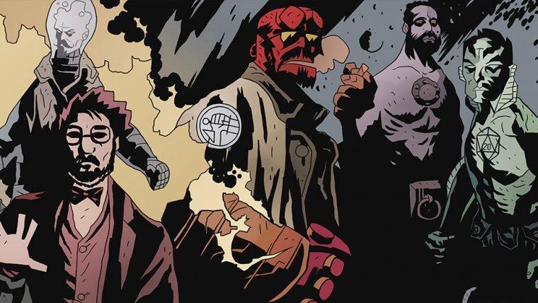 Hellboy nos quadrinhos
