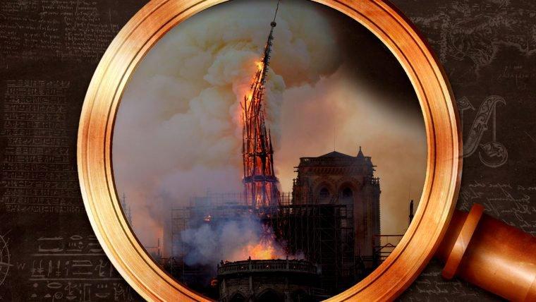 A catedral de Notre Dame de Paris