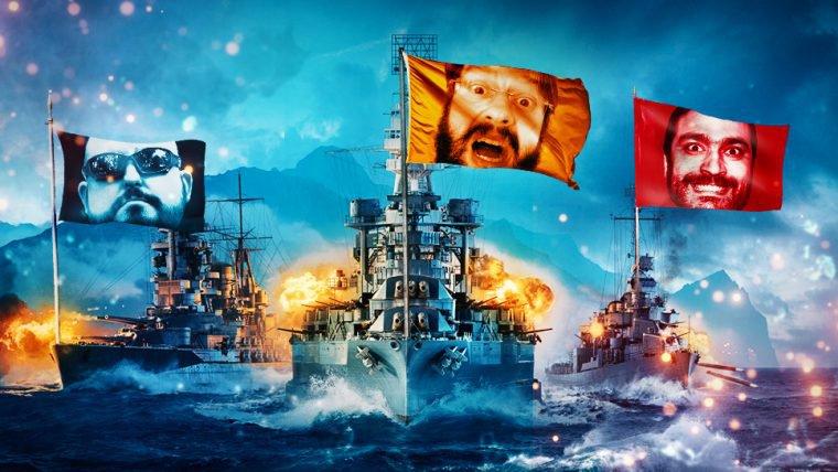 World of Warships - Mil e uma maneiras de morrer no mar