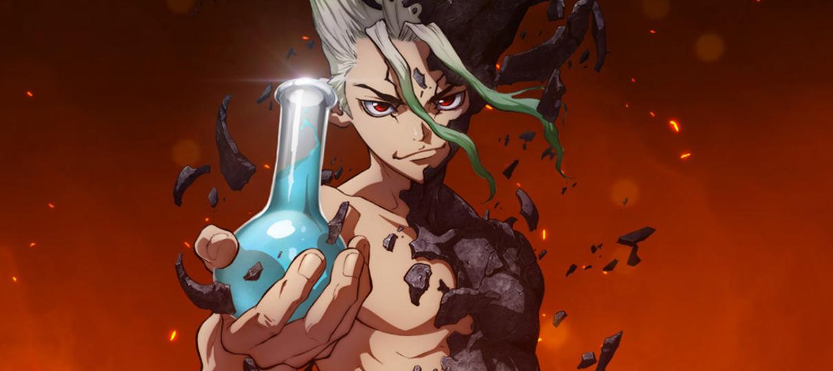 Anime de Dr. Stone será transmitido pela Crunchyroll no Brasil