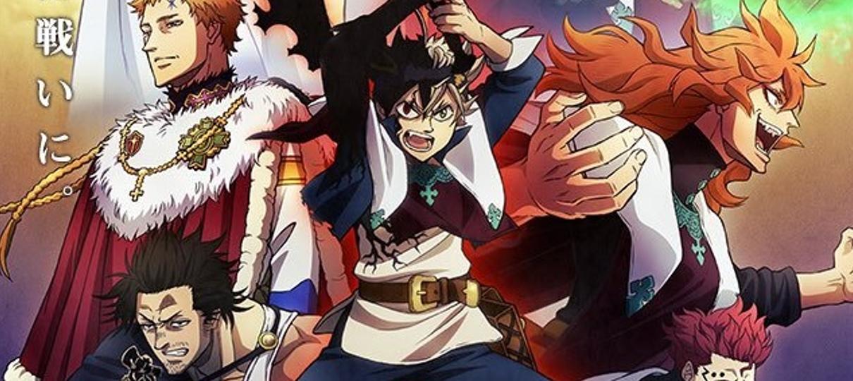 Black Clover   Pôster do próximo arco do anime exibe novo visual