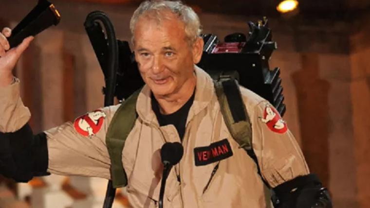 Bill Murray participaria de um novo Caça-Fantasmas: