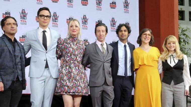 The Big Bang Theory | Elenco deixa marcas na Calçada da Fama