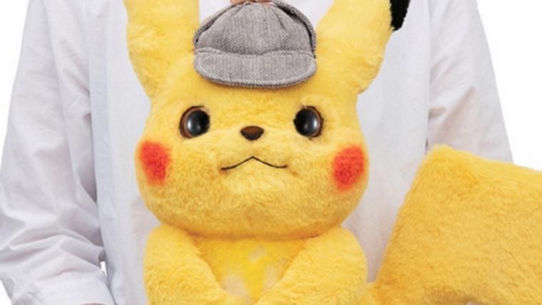 Detetive Pikachu ganha versão fofíssima de pelúcia em tamanho real