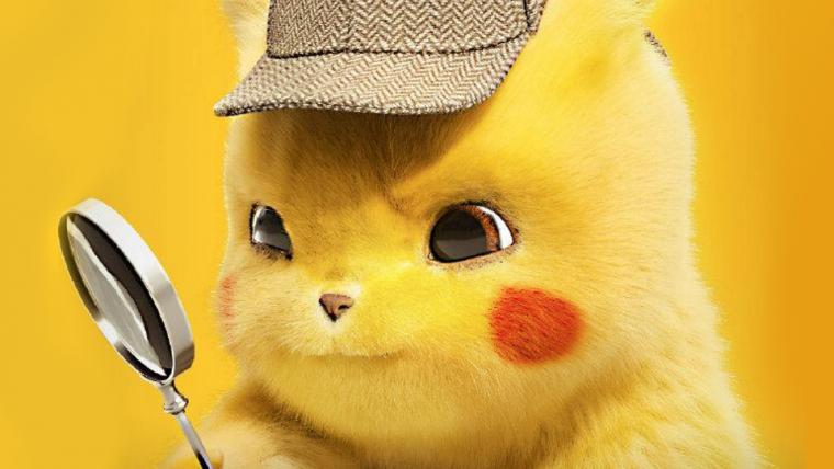 Detetive Pikachu ganha novos pôsteres chineses cheios de fofura