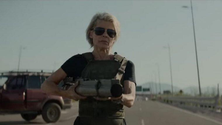 Sarah Connor chega para salvar o dia em trailer de Exterminador do Futuro: Destino Sombrio