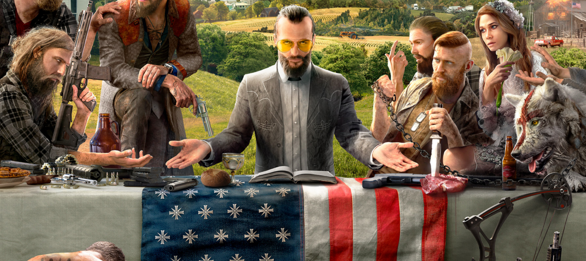 Far Cry 5 é o jogo mais vendido da Ubisoft na atual geração