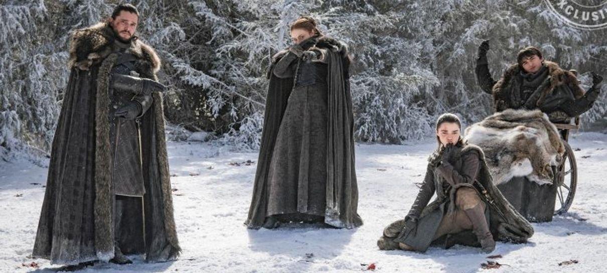Game of Thrones | Confira fotos inéditas dos bastidores da oitava temporada