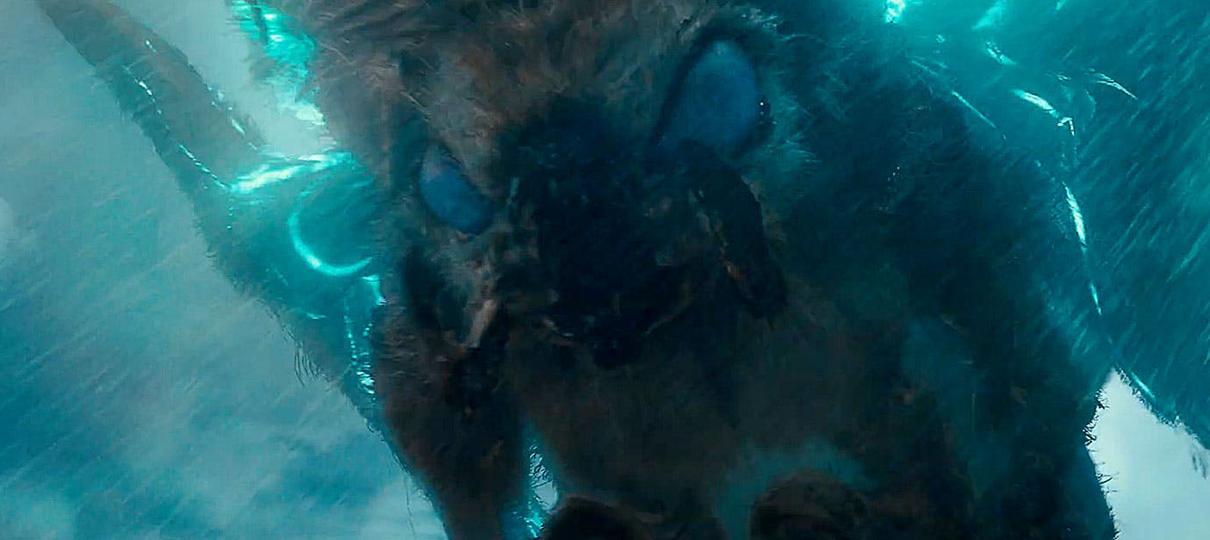 Mothra e Rodan são destaques em novos teasers de Godzilla II: Rei dos Monstros
