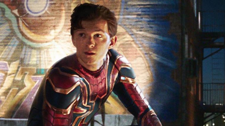 Homem-Aranha: Longe de Casa ganha cartaz com Homem de Ferro ao fundo