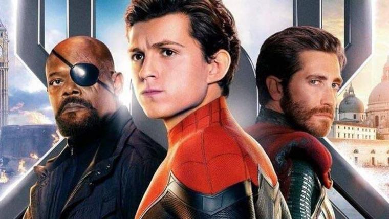 Homem-Aranha: Longe de Casa ganha cartaz oficial com Nick Fury e Mystério