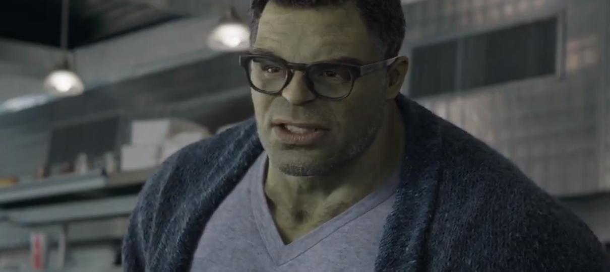 Vingadores: Ultimato | Hulk tira foto com seus fãs em nova cena divulgada