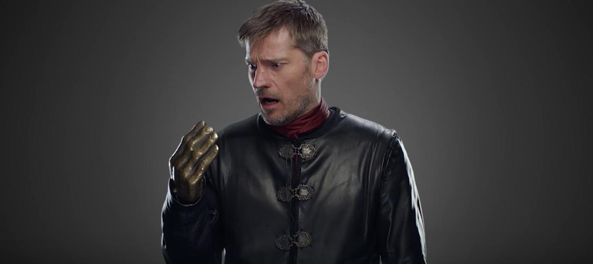 HBO não esqueceu de editar a mão de Jaime no penúltimo episódio de Game of Thrones