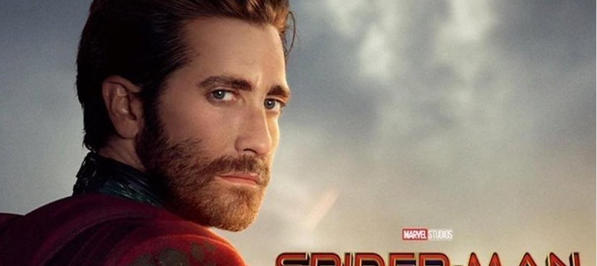 Homem-Aranha: Longe de Casa | Personagens ganham cartazes individuais