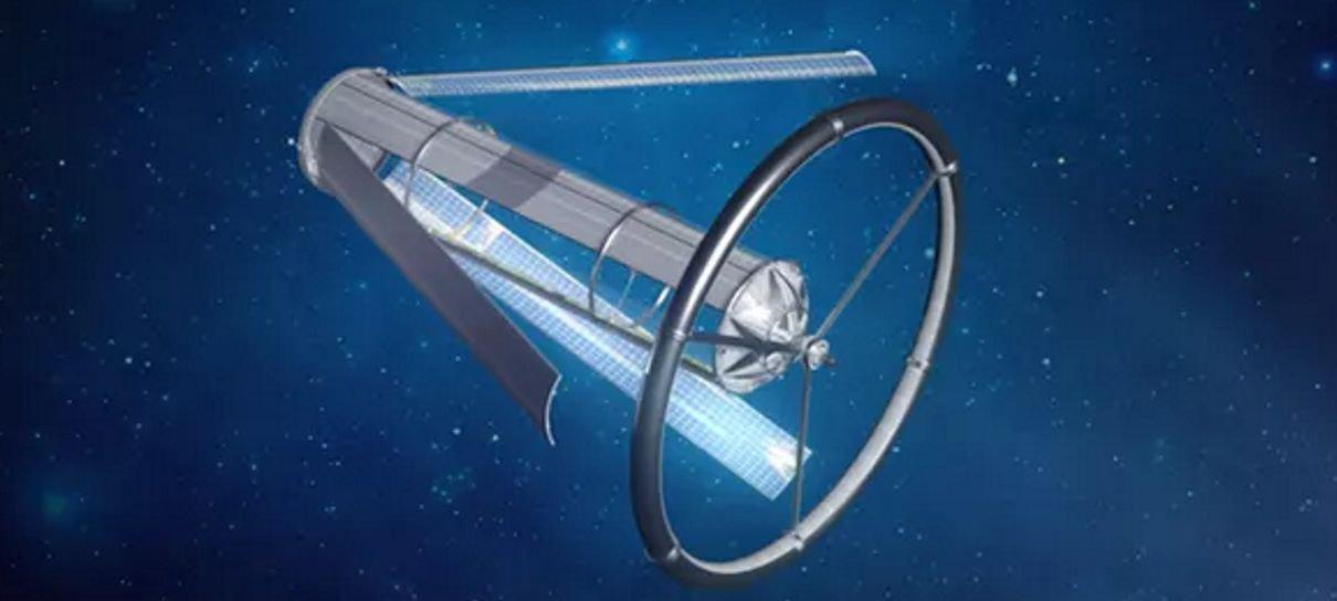 Jeff Bezos detalha seus planos para a colonização espacial