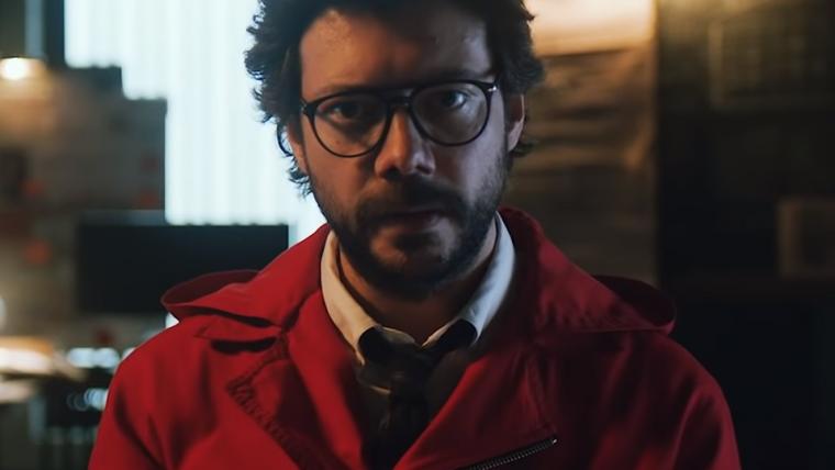 Professor retorna em novo vídeo de La Casa de Papel