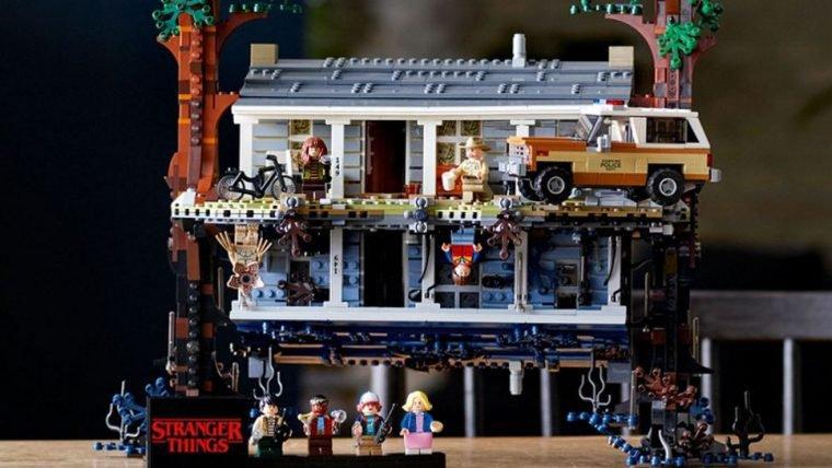 LEGO de Stranger Things inclui até o Mundo Invertido