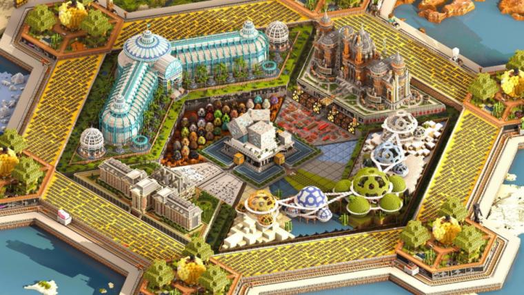 Minecraft ganha mapa interativo para comemorar seus 10 anos