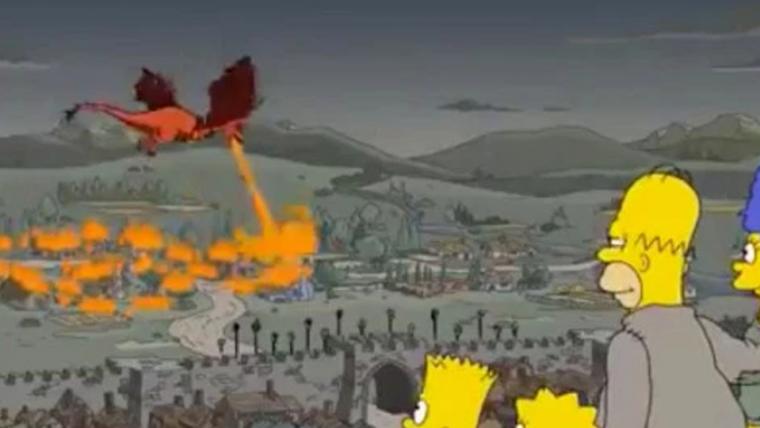 Os Simpsons previu resolução da batalha de Porto Real em Game of Thrones
