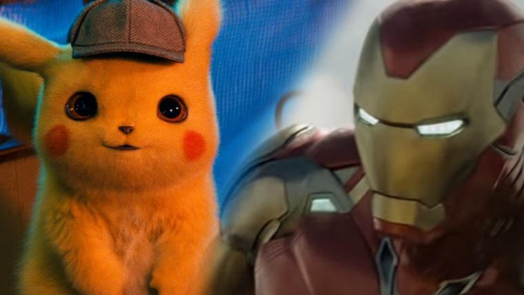 Detetive Pikachu não consegue superar Vingadores: Ultimato na bilheteria americana