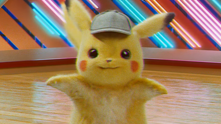 Detetive Pikachu dançando por mais de uma hora vai acabar com a sua produtividade hoje