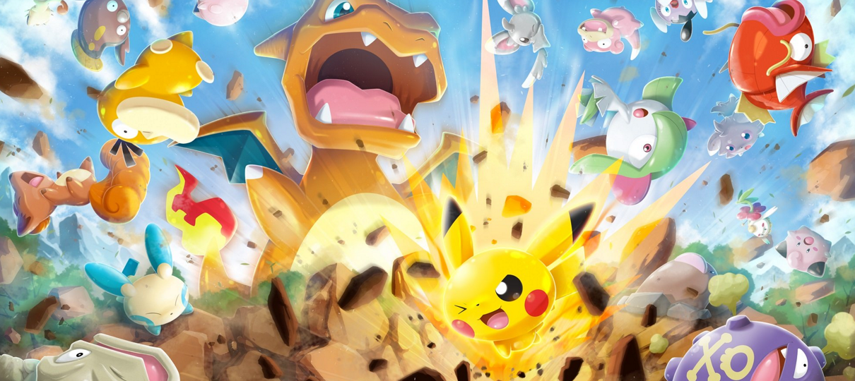Pokémon Rumble Rush é lançado para Android