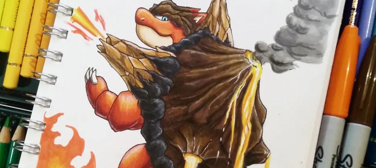 Pokémon | Artista reimagina monstrinhos clássicos trocando os seus tipos