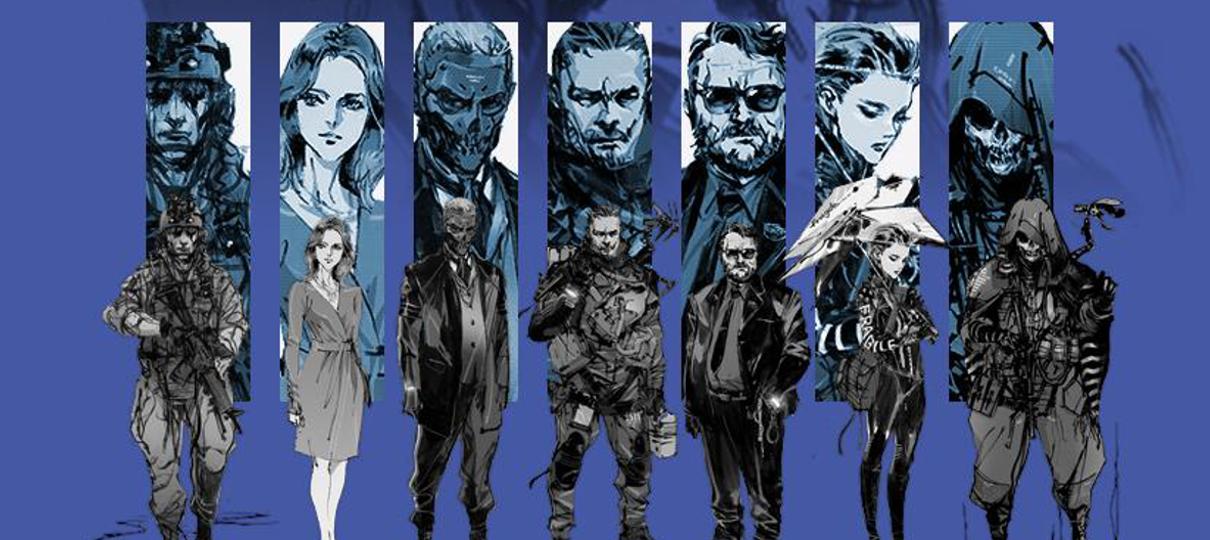 Novo pôster de Death Stranding homenageia Metal Gear Solid 4