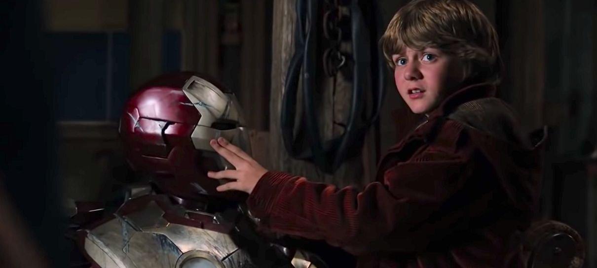 Vingadores: Ultimato | Ty Simpkins gostaria de ser o Rapaz de Ferro