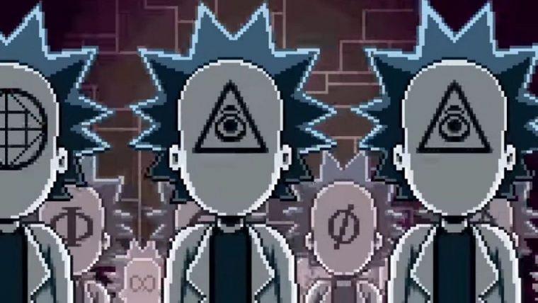 Rick and Morty vivem aventuras pixeladas em curtas de Paul Robertson