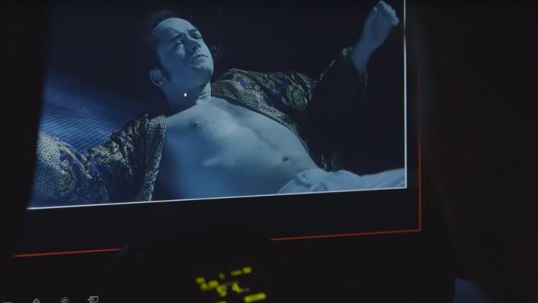 Vídeo de Rocketman mostra bastidores e Elton John visitando o set