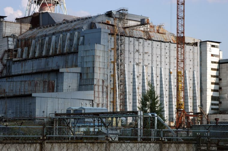 história real chernobyl sarcófago